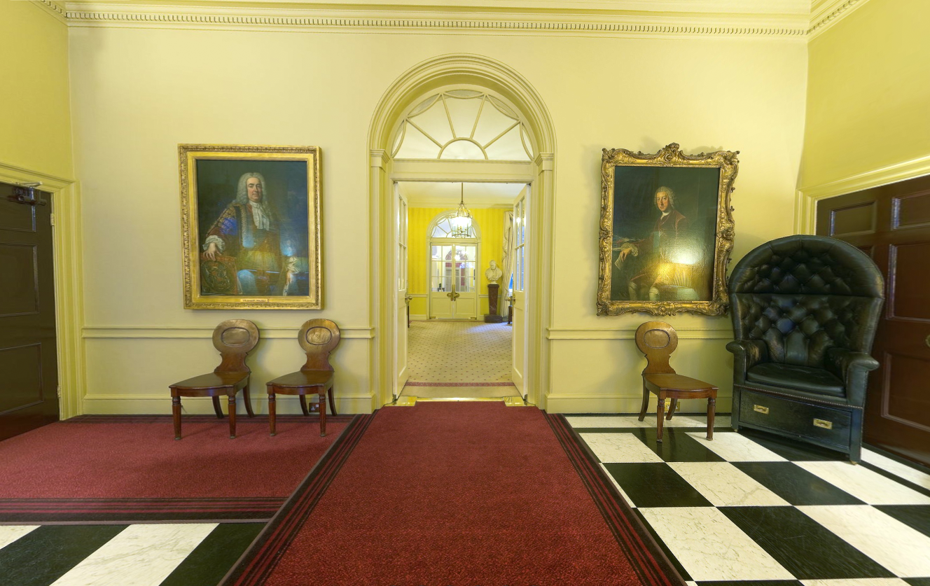 10 Downing Street Grand Entrance Scene Therapy