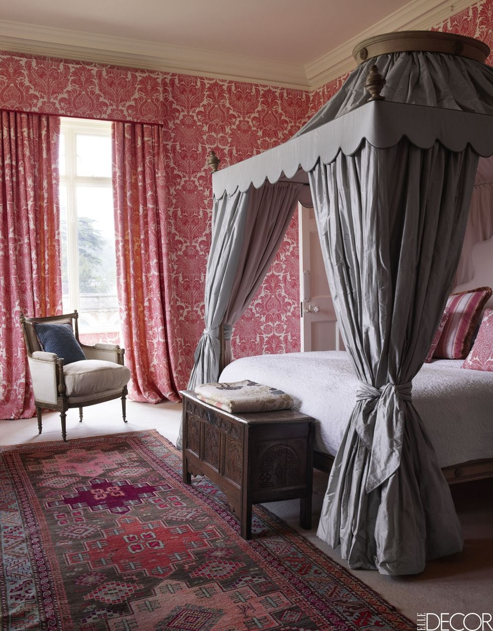 Somerleyton Hall Four Poster Bedroom English Country Estate