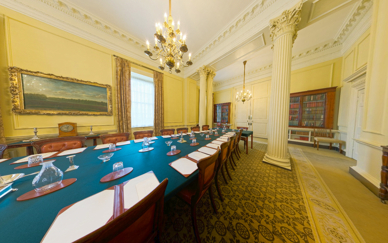 10 Downing Street Cabinet Room Scene Therapy