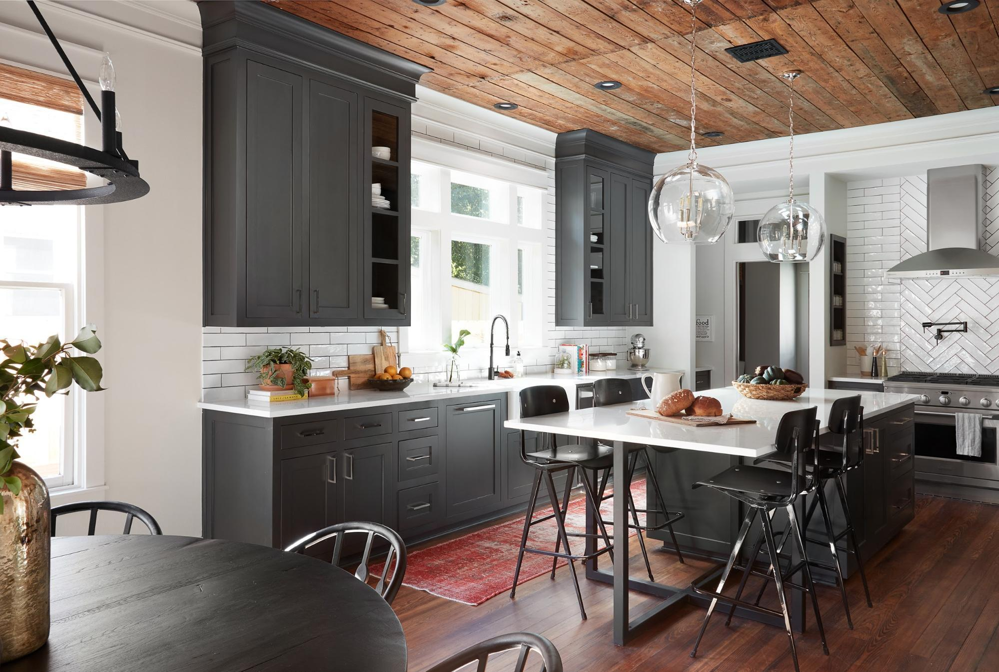 The Americana House From Fixer Upper Kitchen Scene Therapy