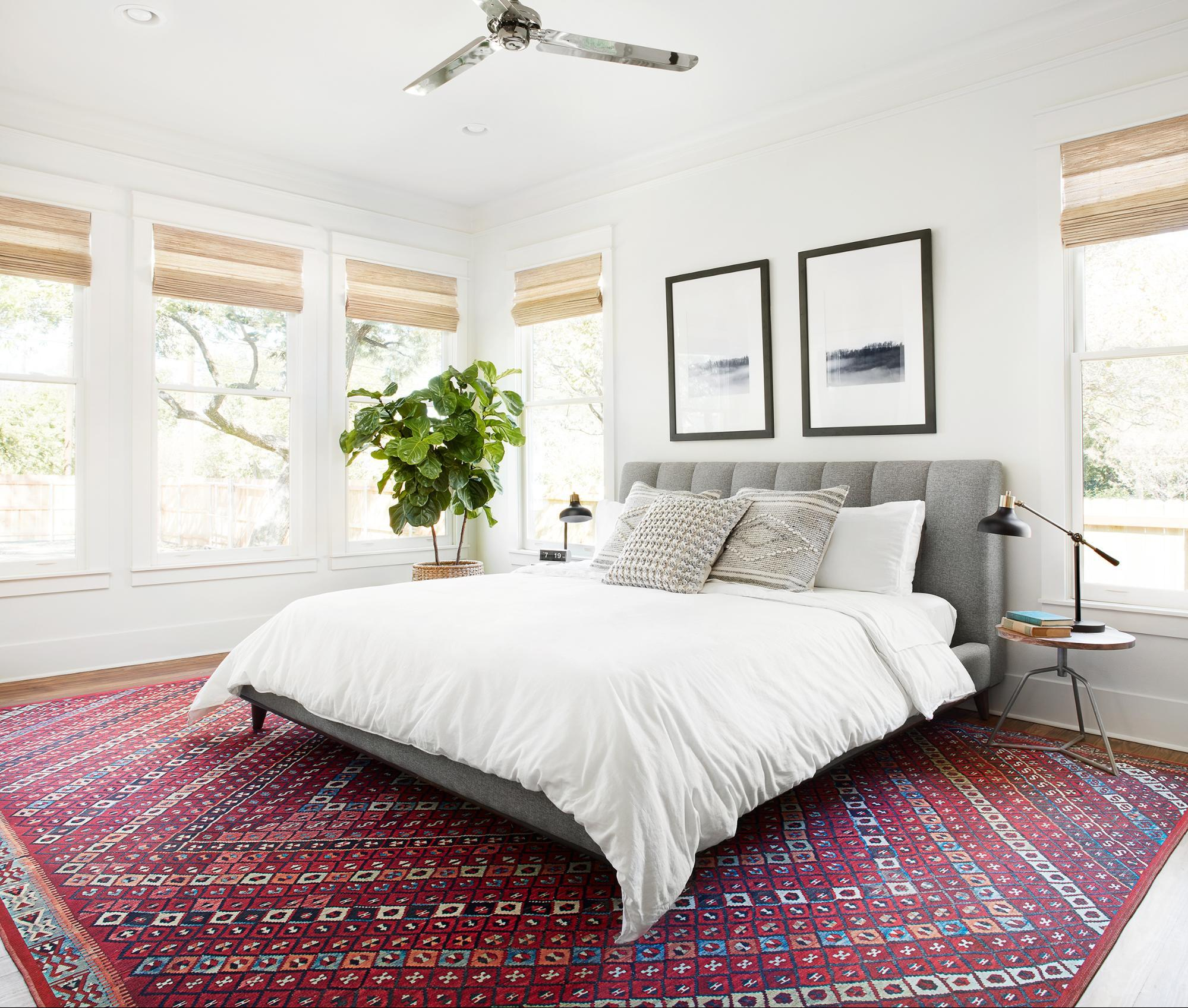 The Americana House From Fixer Upper Master Bedroom Decor Scene Therapy