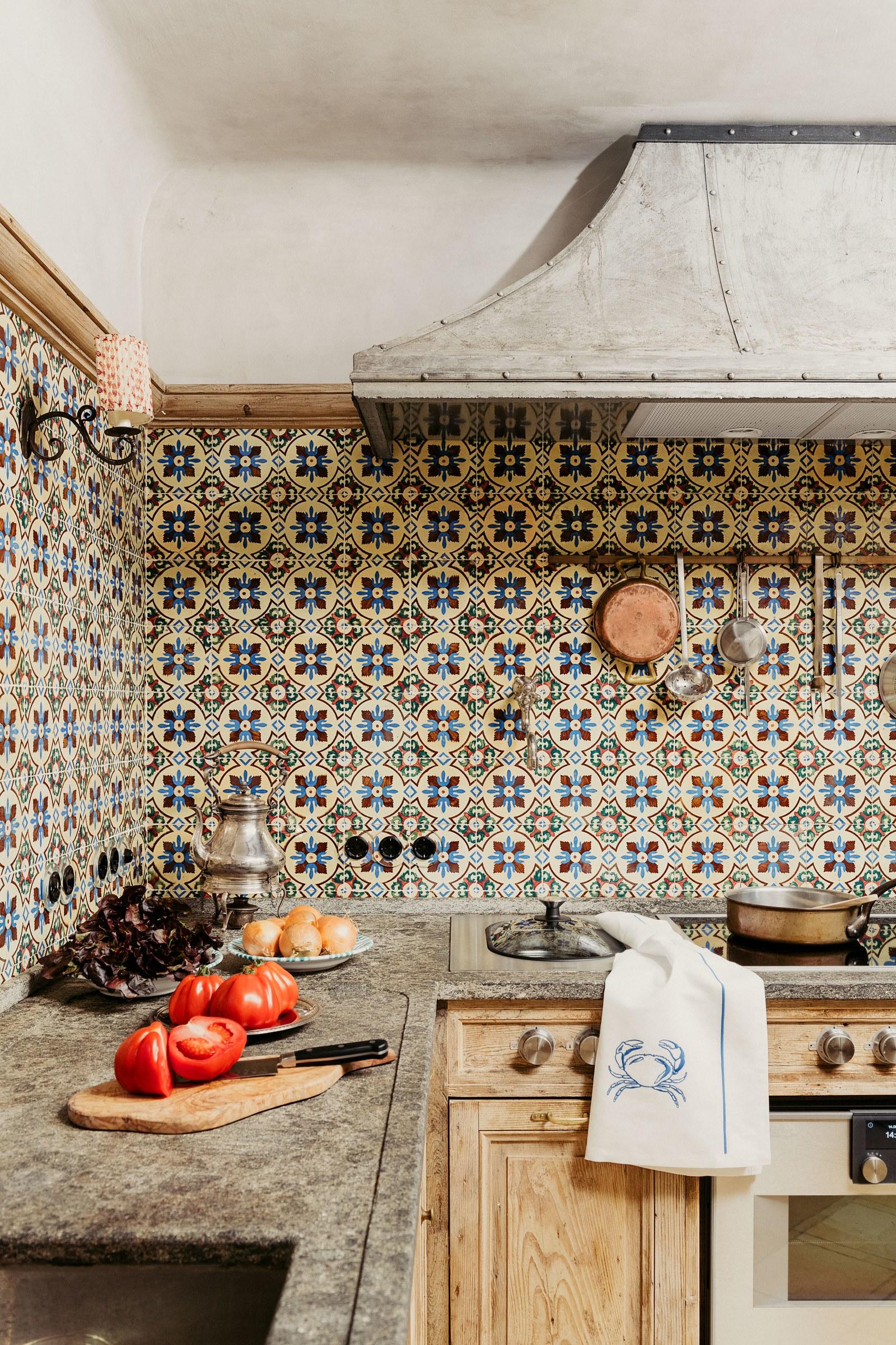 Bohemian Cottage Kitchen Design Scene Therapy