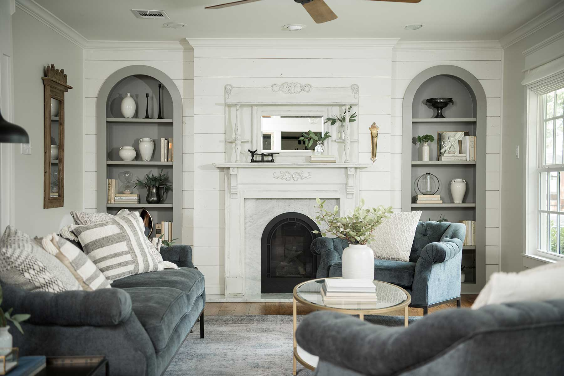 The Carriage House From Fixer Upper Living Room Decor Scene Therapy